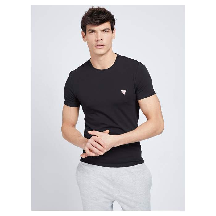Camiseta negra manga corta...