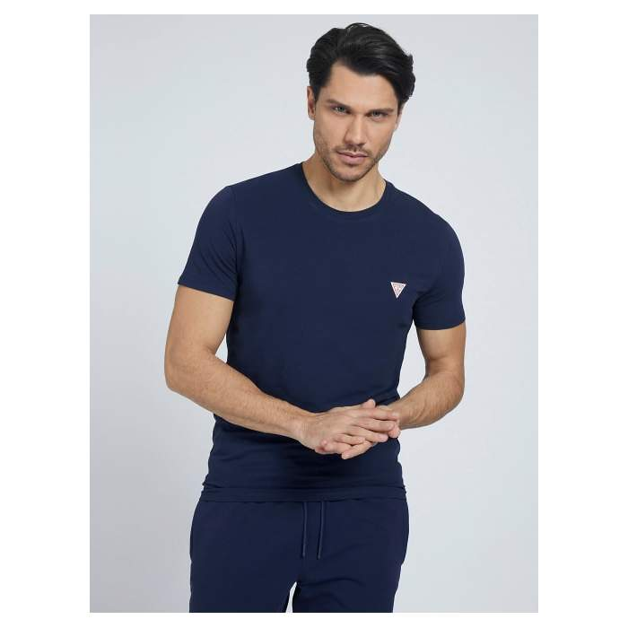 Navy Blue T-shirt short...