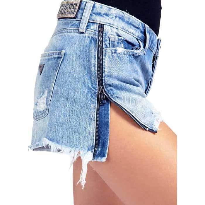 Guess women's short jeans,...
