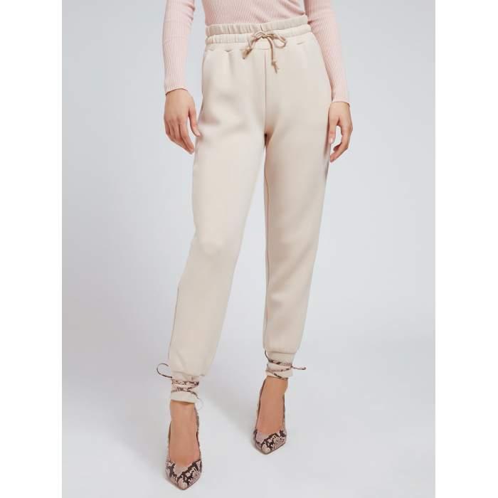 Pantalón comfy camel GUESS 2021- JANET PANTS PANTALONES Mujer GUESS- Online