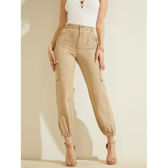 Camel CARGO PANTS GUESS- IS...