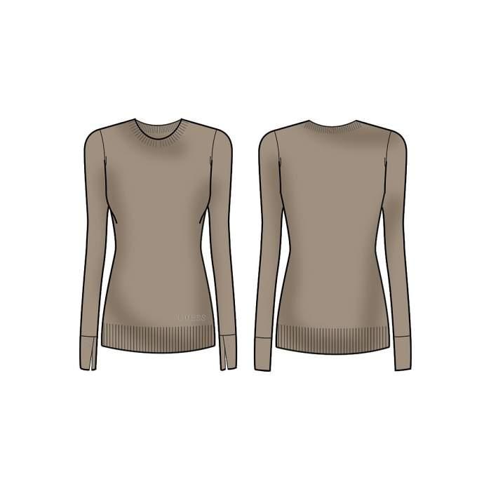 Camel Sweater Long Sleeve...