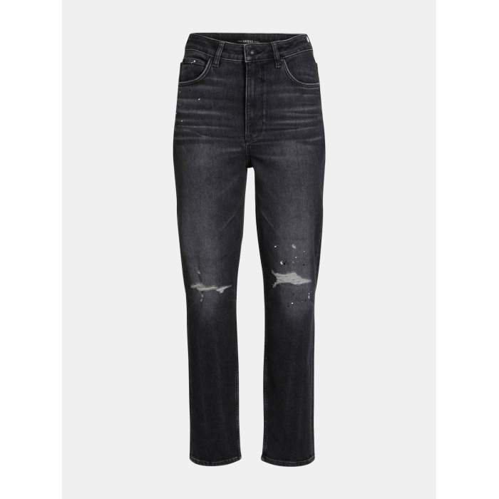 Black jeans GUESS- MOM JEAN...