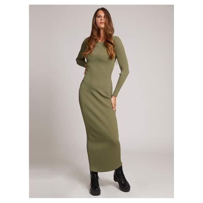 Vestido largo verde...
