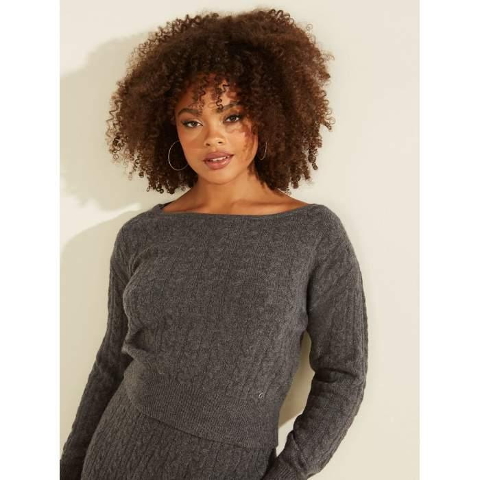 Jersey Guess gris lana...