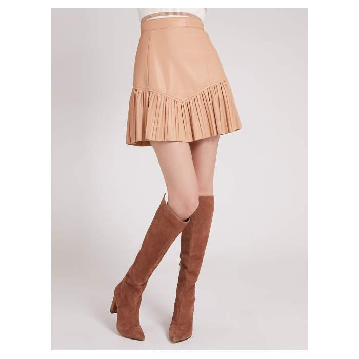 Pleated short skirt Guess...