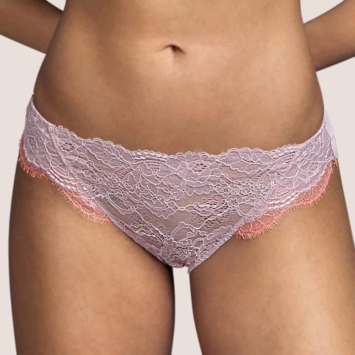 Braga  rosa palo, braga bikini Andrés Sardà- Braga bikini , Lencería Margaret nude, rosa palo Andres sarda 2021
