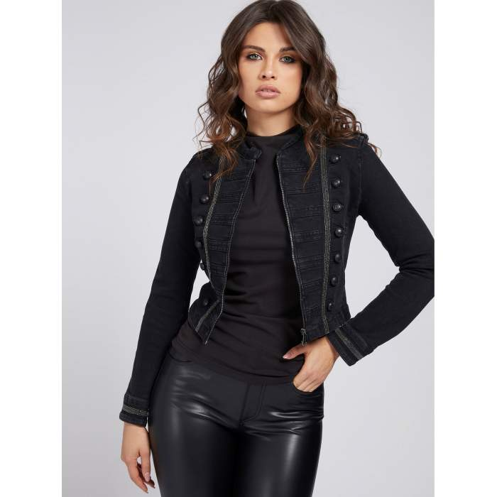 Guess black jacket VASSA ,...