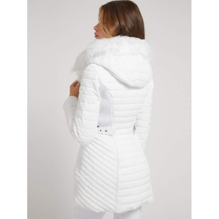 Manteau matelassé blanc...