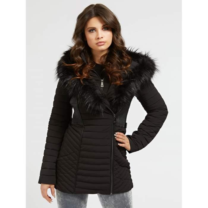 Puffer coat woman black...