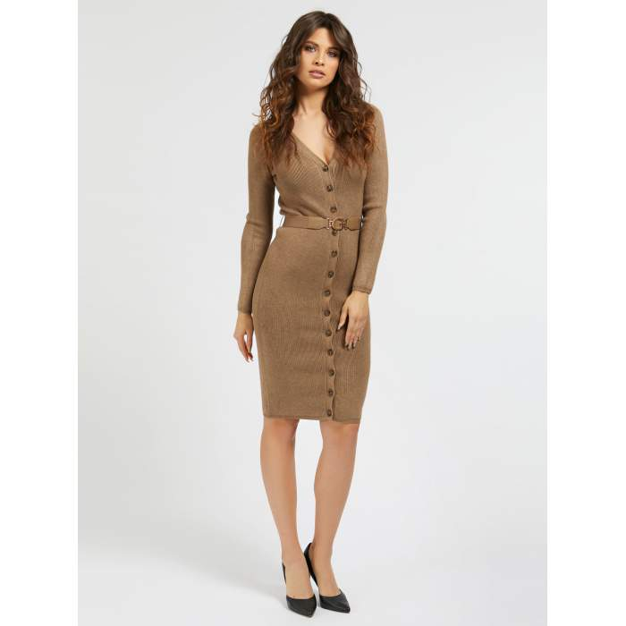 Guess nude midi fitted...