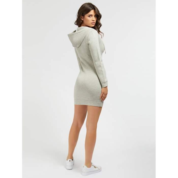 Vestido sudadera Guess gris...