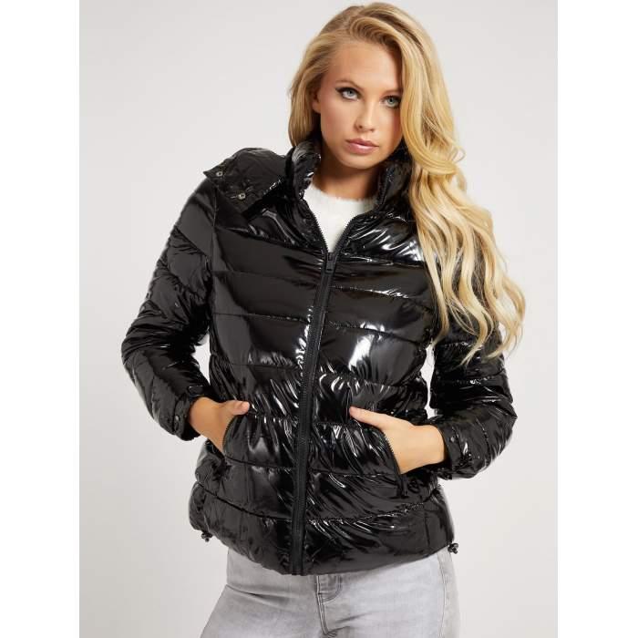 Guess black puffer jacket...