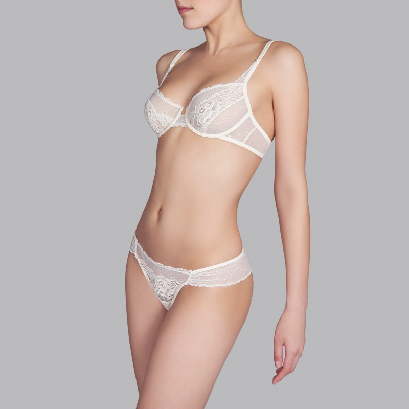 PADDED BRAS, WEDDING COLOR, BY ANDRES SARDA, 2015