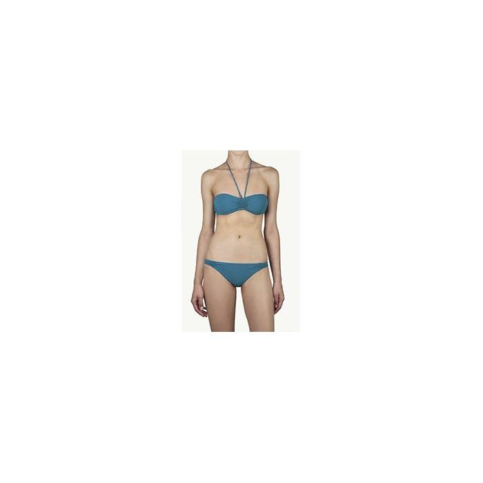 bikini bandeau  fiji bleu