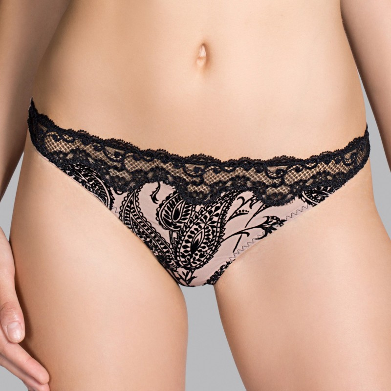 MAKE-UP LUXURY THONG,  POLA LINGERIE, ANDRES SARDA