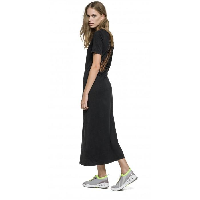 LOW BACK REPLAY WOMEN DRESSES