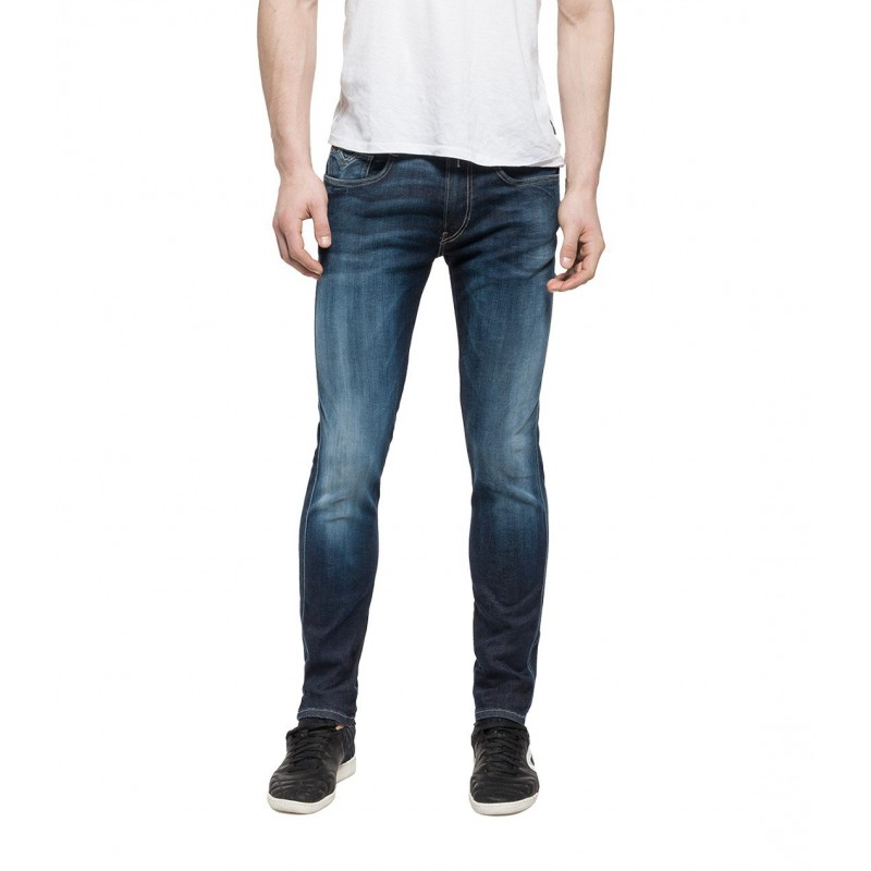 SLIM-FIT MEN BLE CONTRASTS JEANS-REPLAY-ANBASS-HYPERFLEX
