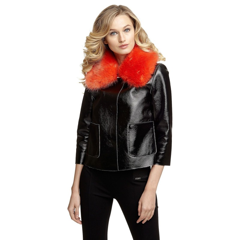 JACKETS FAUX FUR- GUESS- WOMEN- 2 LOOKS