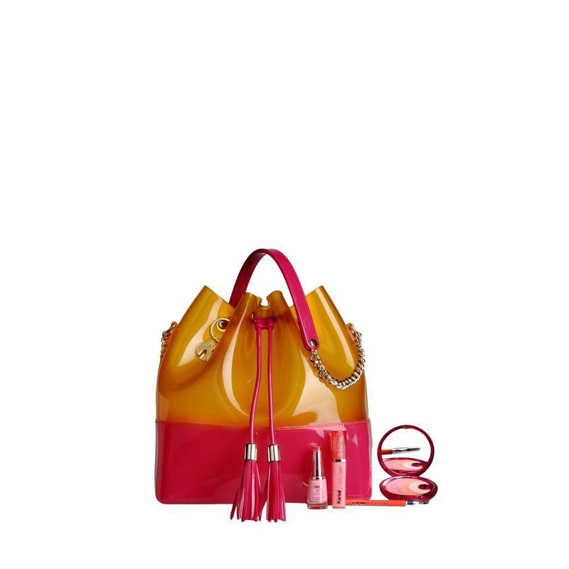 Fucsia-Coral Bags, Grace K, Kartell