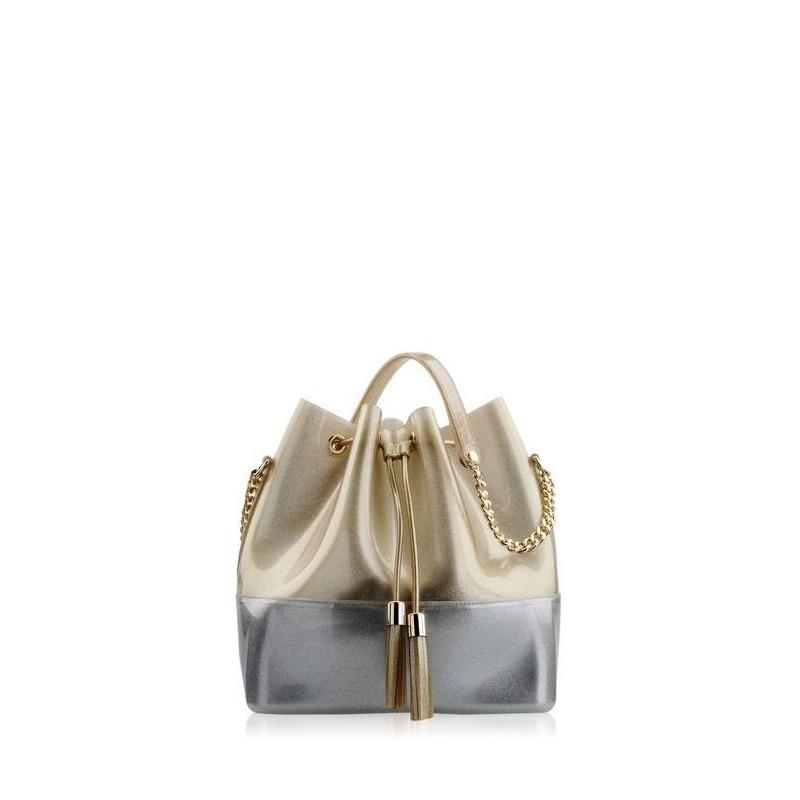 Bags, Grace K Precious Gold, Kartell
