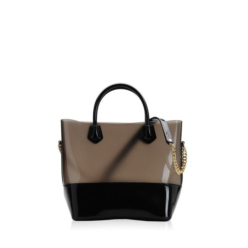 Bags, Shopper, Kartell BLACK/ FUME