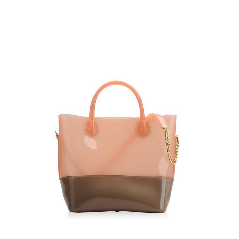 Bags, Shopper, Kartell TURTLE- PEACH