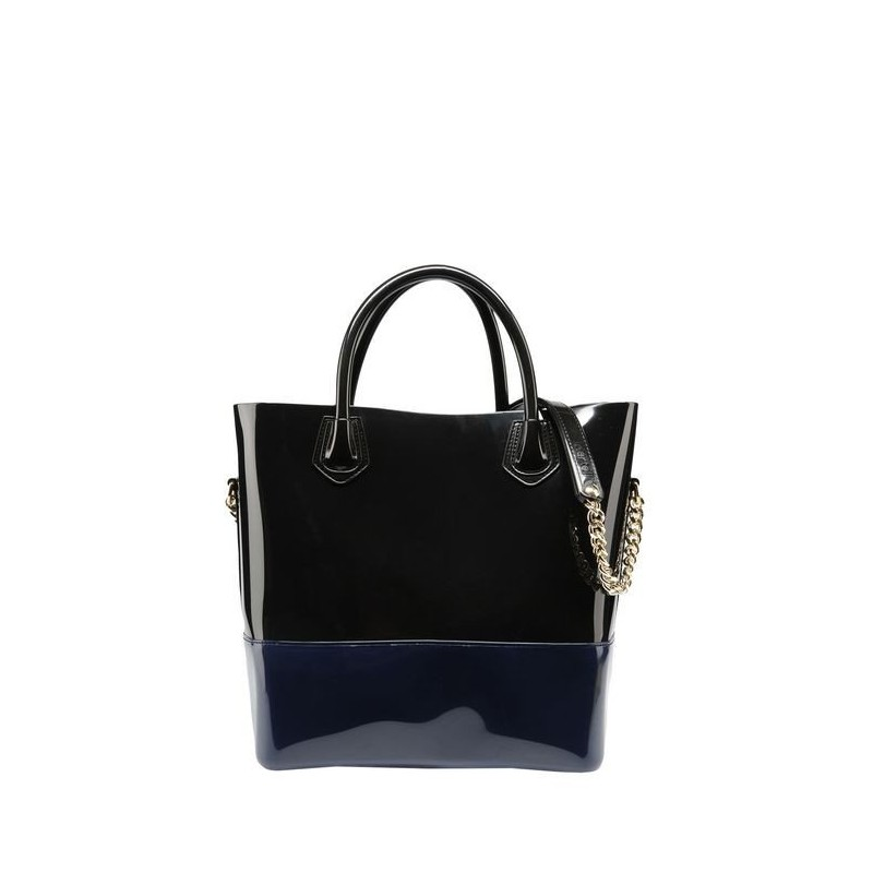Bags, Shopper, Kartell GRACE DARK BLUE/ BACK
