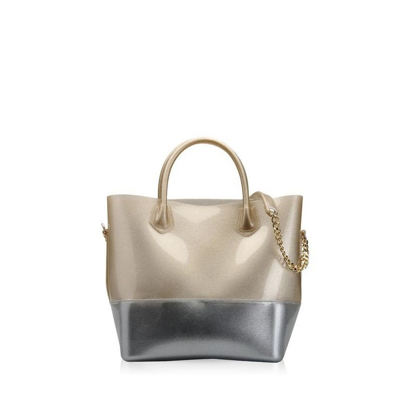 Bags, Shopper, Kartell GOLD / SILVER