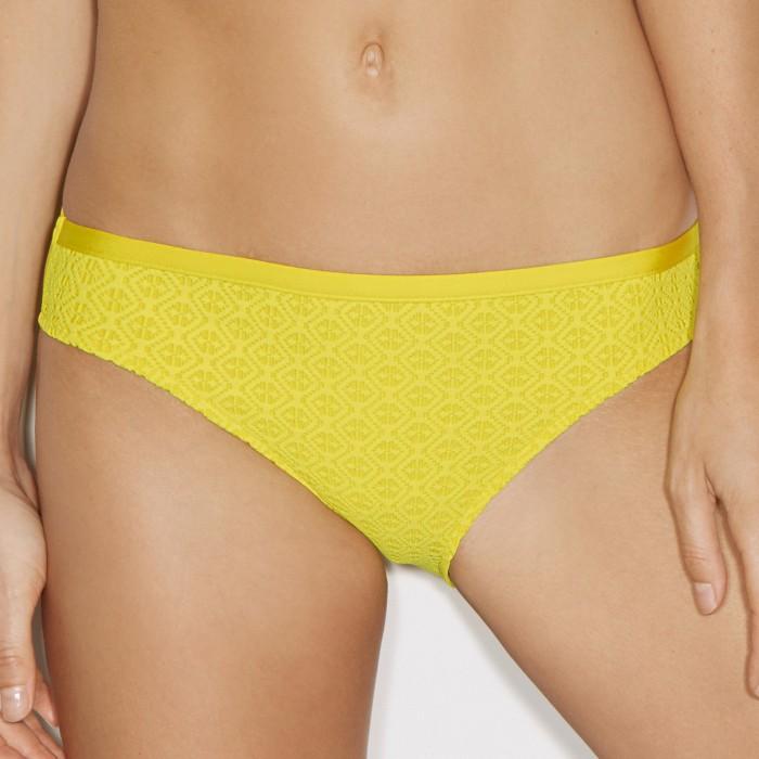Bikinis amarillos,braga...