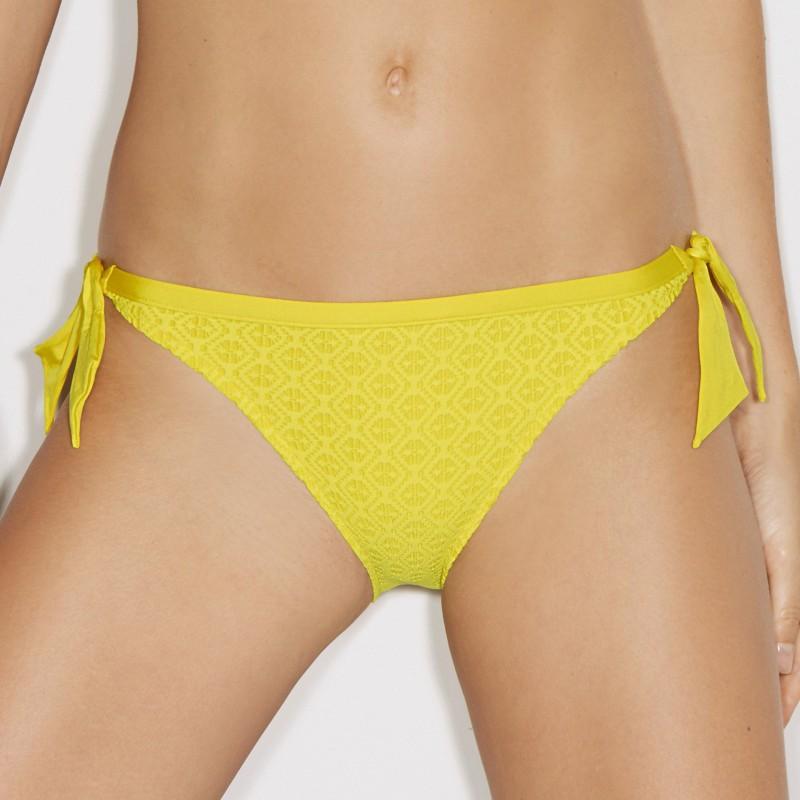 Yellow Bikinis, bikini tie side-Magda SUN Yellow-Andres Sarda 2017 online